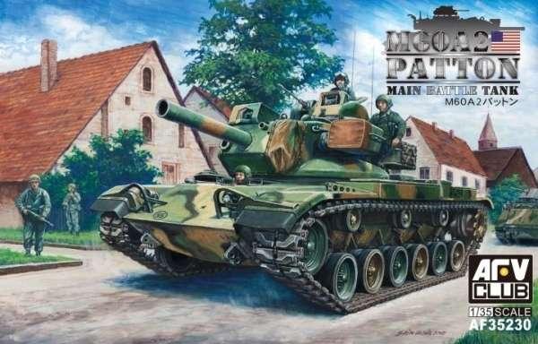 Amerykański czołg podstawowy M60A2 Patton, plastikowy model do sklejania AFV AF35230 w skali 1:35-image_AFV Club_AF35230_1
