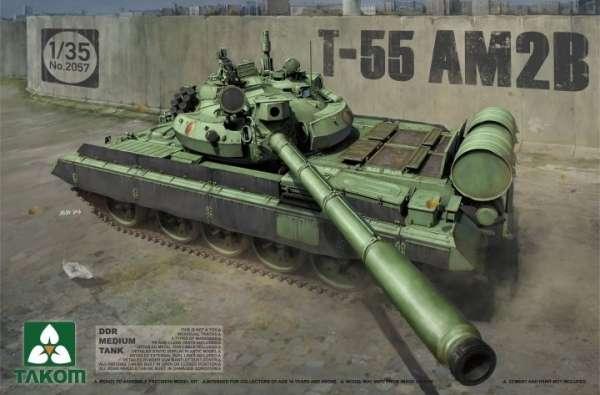 Radziecki czołg średni T-55 AM2B, plastikowy model do sklejania Takom 2057 w skali 1:35-image_Takom_2057_1