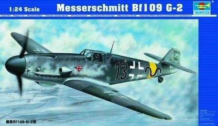 German fighter Messerschmitt Bf109G-2 model_trumpeter_02406_image_1-image_Trumpeter_02406_1