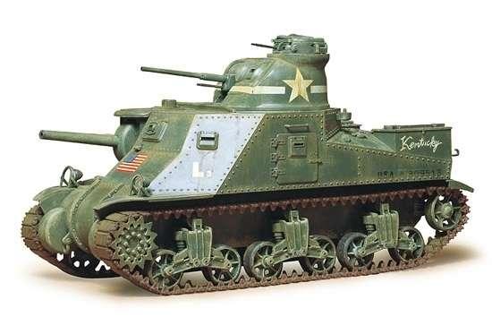 Amerykański czołg średni M3 Lee Mk.I, plastikowy model do sklejania Tamiya 35039 w skali 1:35-image_Tamiya_35039_1