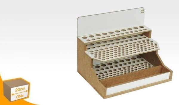 Hobby Zone OMs07 - modułowy organizer na pędzle i narzędzia modelarskie - 20cm - image modeledo.pl -a-image_Hobby Zone_OMs07_1