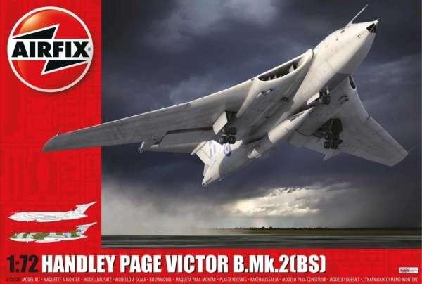 Brytyjski bombowiec strategiczny Handley Page Victor B.Mk.2 , plastikowy model do sklejania Airfix A12008 w skali 1:72  -image_Airfix_A12008_1