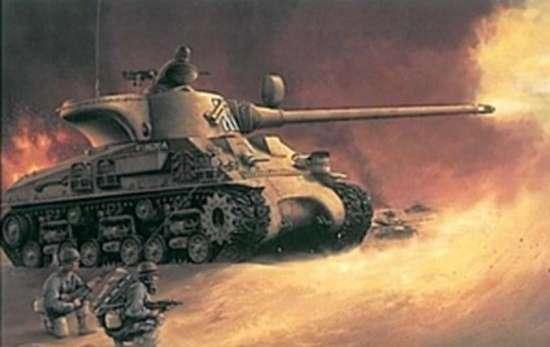 Czołg M-50 zwany Super Sherman w służbie w Siłach Obronnych Izraela, plastikowy model do sklejani Dragon 3528 w skali 1:35-image_Dragon_3528_1