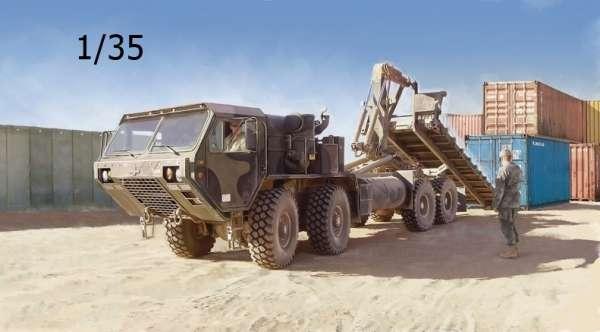 Amerykańska ośmiokołowa ciężarówka wojskowa HEMTT, plastikowy model do sklejania Italeri 6525 w skali 1/35.-image_Italeri_6525_1