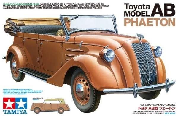 Plastikowy model do sklejania japońskiej Toyoty AB Phaeton w skali 1:35, model Tamiya 35338.-image_Tamiya_35338_1