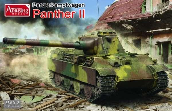 Niemiecki czołg PZ V Panther II , plastikowy model do sklejania Amusing Hobby 35A018 w skali 1:35-image_Amusing Hobby_35A018_1
