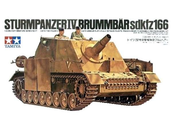 Plastikowy model niemieckiego działa samobieżnego Sturmpanzer IV w skali 1/35. Tamiya 35077.-image_Tamiya_35077_1
