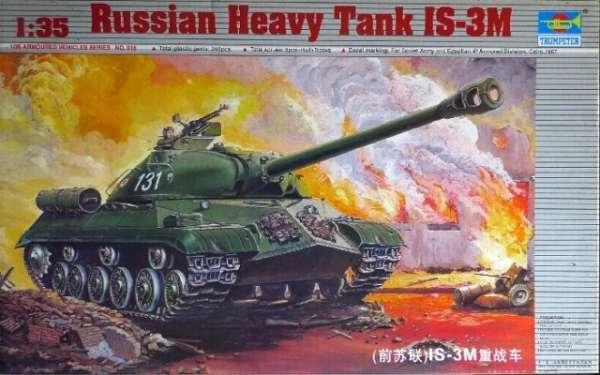 Czołg ciężki IS-3M , plastikowy model do sklejania Trumpeter 00316 w skali 1:35-image_Trumpeter_00316_1