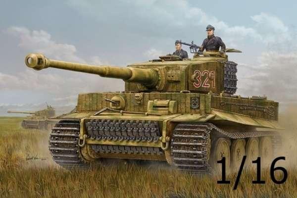 Niemiecki ciężki czołg Pz.Kpfw. VI Tiger I, plastikowy model do sklejania Hobby Boss 82601 w skali 1/16.-image_Hobby Boss_82601_1