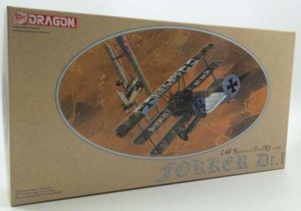 plastikowy-model-samolotu-fokker-dr-i-do-sklejania-sklep-modelarski-modeledo-image_Dragon_5901_1