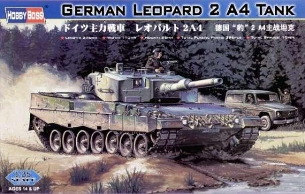 Niemiecki czołg Leopard 2 A4, plastikowy model do sklejania Hobby Boss nr 82401 w skali 1:35-image_Hobby Boss_82401_1
