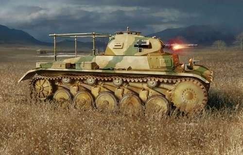 Niemiecki czołg średni Pz.Beob.Wg.II Ausf.C, plastikowy model do sklejania Dragon 6812 w skali 1:35-image_Dragon_6812_1