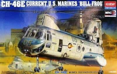 Model amerykańskiego helikoptera Boeing CH-46E Sea King do sklejania w skali 1:48.-image_Academy_2226_1