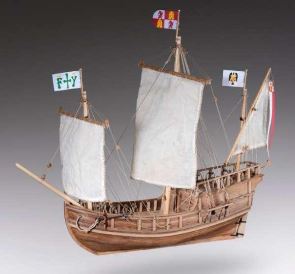 model_drewniany_do_sklejania_dusek_d011_pinta_hobby_shop_modeledo_image_1-image_Dusek Ship Kits_D011_1