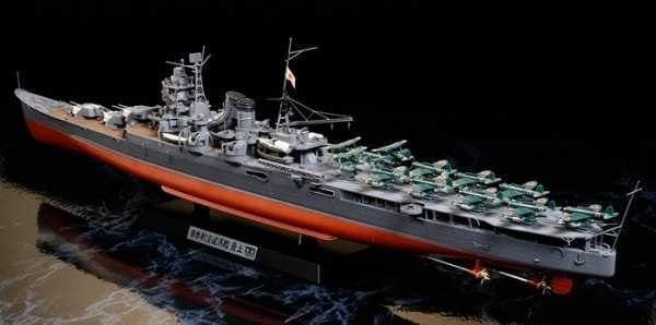Japoński ciężki krążownik Mogami, plastikowy model do sklejania Tamiya 78021 w skali 1:350-image_Tamiya_78021_1