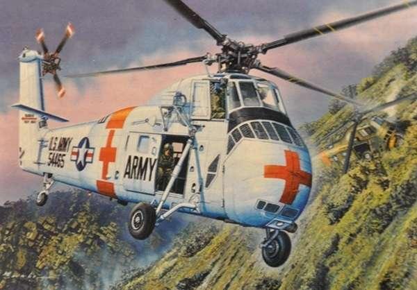 CH-34 US Army Rescue - amerykański śmigłowiec ratowniczy w skali 1:48 model_mrc_64103_image_1-image_Merit_64103_1