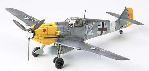 Myśliwiec Messerschmitt Bf 109 E-4/7 Trop, plastikowy model do sklejania Tamiya 60755 w skali 1:72-image_Tamiya_60755_1