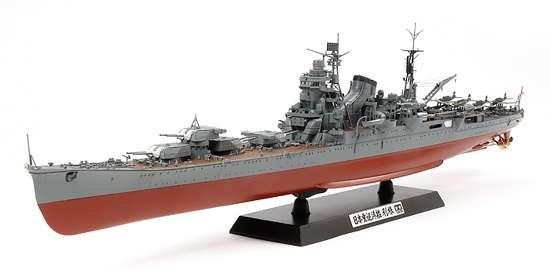 Japoński ciężki krążownik Tone, plastikowy model do sklejania Tamiya 78024 w skali 1:350-image_Tamiya_78024_1