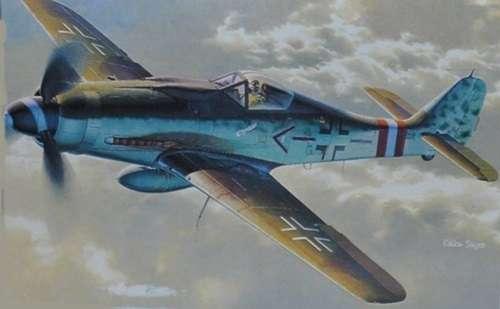 Model myśliwca do sklejania Focke-Wulf FW190 D-9 w skali 1:48, model Dragon 5503-image_Dragon_5503_1
