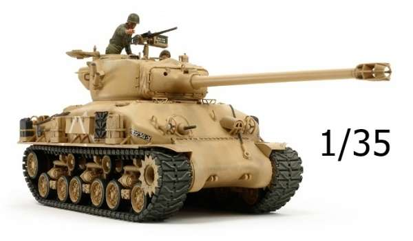 Izraelski czołg M51, plastikowy model do sklejania Tamiya 35323 w skali 1/35.-image_Tamiya_35323_1