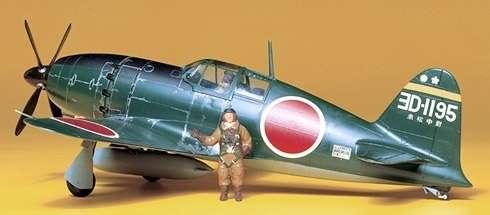 Japoński myśliwiec Mitsubishi J2M3 Interceptor Raiden (Jack), plastikowy model do sklejania Tamiya 61018 w skali 1:48-image_Tamiya_61018_1
