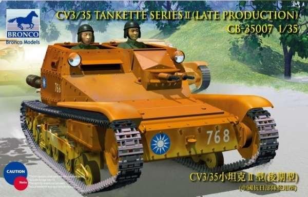 Włoska tankietka CV3/35 w skali 1:35, model do sklejania i malowania - Bronco CB35007.-image_Bronco Models_CB35007_1