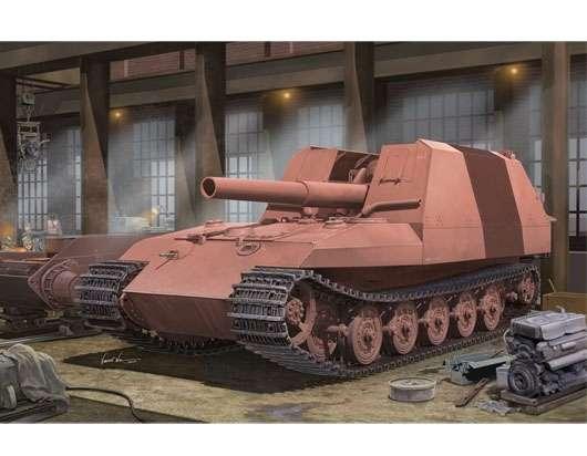 German Geschutzwagen VI 21cm Msr 18 model_tru01540_image_1-image_Trumpeter_01540_1