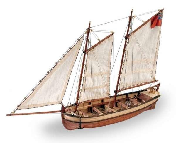 drewniany-model-do-sklejania-szalupy-hms-endeavour-sklep-modeledo-image_Artesania Latina drewniane modele statków_19015_1