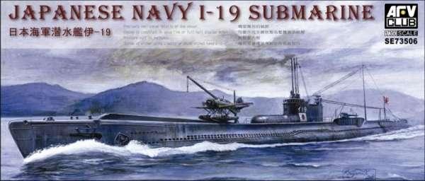 Japoński okręt podwodny I-19 , plastikowy model do sklejania AFV Club SE73506 w skali 1:350 - image a_1-image_AFV Club_SE73506_1