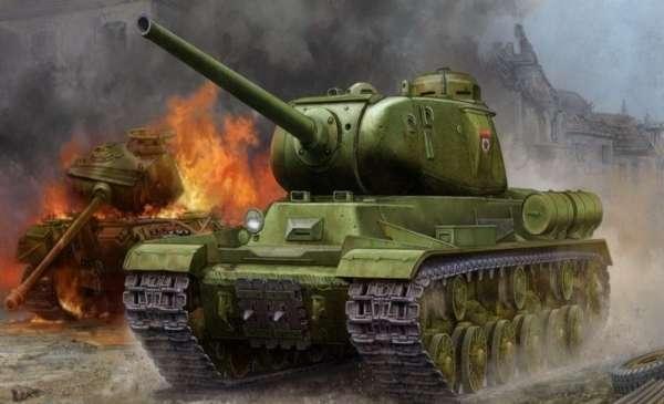 Model do sklejania ciężkiego czołgu JS-1 model_trumpeter_05587_skala_1_35_image_1-image_Trumpeter_05587_1