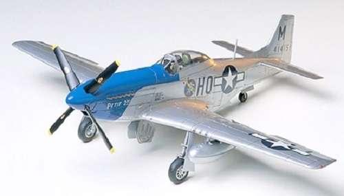 Amerykański myśliwiec P-51D Mustang 8th AF, plastikowy model do sklejania Tamiya 61040 w skali 1:48-image_Tamiya_61040_1