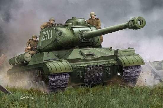 Radziecki czołg ciężki IS-2M , plastikowy model do sklejania Trumpeter 05590 w skali 1:35-image_Trumpeter_05590_1