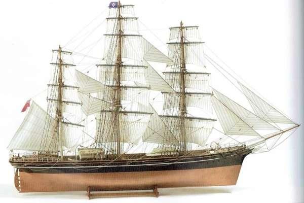 XIX wieczny brytyjski kliper herbaciany Cutty Sark , drewniany model do sklejania Billing Boats nr BB564 w skali 1:75-image_Billing Boats_BB564_1