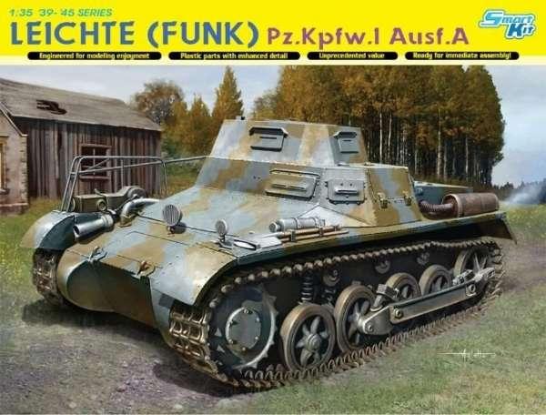 Lekki czołg zwiadowczy PZ.I Ausf A, plastikowy model do sklejania Dragon 6591 w skali 1:35.-image_Dragon_6591_1
