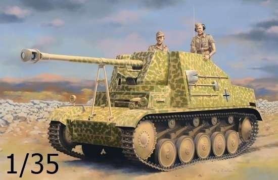 Niemiecki niszczyciel czołgów Sd.Kfz.131 Marder II, plastikowy model do sklejania Dragon 6769 w skali 1/35.-image_Dragon_6769_1