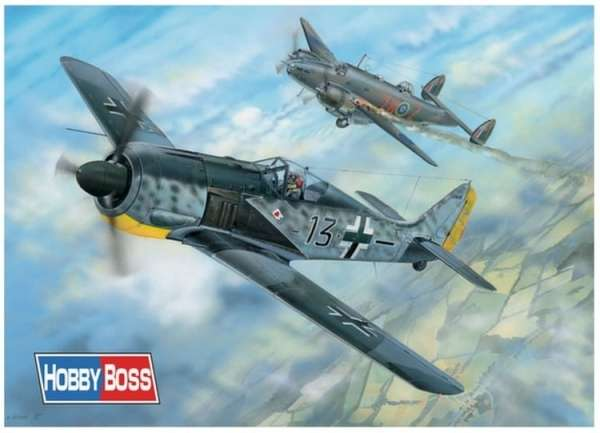 Model Focke Wulf FW 190A-5 skala 1:18 Hobby Boss 81802 model_do_sklejania_hobby_81802-image_Hobby Boss_81802_1