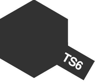 Farba modelarska w sprayu TS-6 Matt Black o pojemności 100ml, Tamiya 85006-image_Tamiya_Tamiya 85006_1