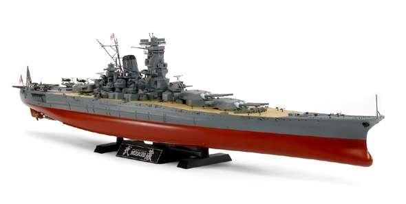 Japoński pancernik Musashi, plastikowy model Tamiya 78031 do sklejania w skali 1/350.-image_Tamiya_78031_1