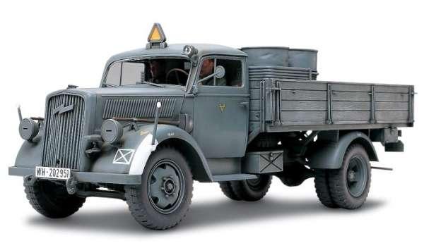 Niemiecka ciężarówka wojskowa 3ton 4x2, plastikowy model do sklejania Tamiya 35291 w skali 1:35.-image_Tamiya_35291_1