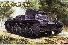 Niemiecki czołg lekki Pz.Kpfw.II wersja F, plastikowy model do sklejania Dragon 6263 w skali 1:35.-image_Dragon_6263_1