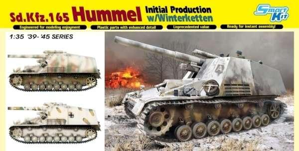 Niemieckie samobieżne działo polowe Sd.Kfz.165 Hummel , plastikowy model do sklejania Dragon 6876 w skali 1:35-image_Dragon_6876_1