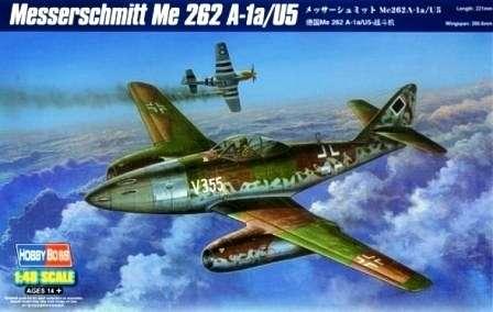 Niemiecki odrzutowy myśliwiec Messerschmitt Me-262 A-1a/U4, plastikowy model do sklejania Hobby Boss 80373 w skali 1:48-image_Hobby Boss_80373_1