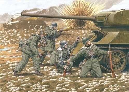 Figurki do sklejania Grenadierów 20 dywizji SS w skali 1:35. Model Dragon 6477.-image_Dragon_6477_1