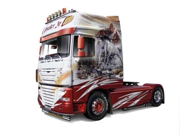 Holenderska ciężarówka DAF XF105 Smoky Jr., plastikowy model do sklejania Italeri 3917 w skali 1:24-image_Italeri_3917_1