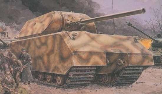 Niemiecki super ciężki czołg Maus, plastikowy model do sklejania Dragon 6007 w skali 1:35.-image_Dragon_6007_1