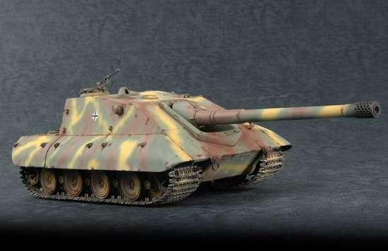 Model do sklejania niszczyciela czołgów Jagdpanzer E100, model Trumpeter 07122.-image_Trumpeter_07122_1